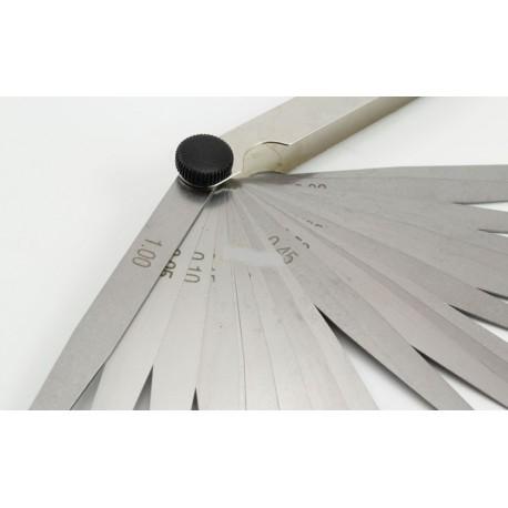 Merni listići za štelovanje ventila 20kom 0.05-1 mm AI060020