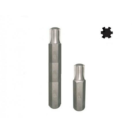 Bit Ribe šestougaoni M7x40 kratki 10mm D10R40M07A