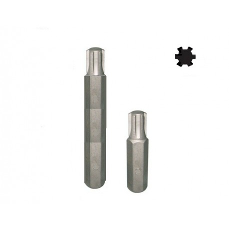 Bit Ribe šestougaoni M13x40 kratki 10mm D10R40M13A